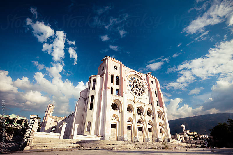 The Cathedral of Our Lady of the Assumption, Port-Au-Prince, Haiti by Micky Wiswedel for Stocksy United