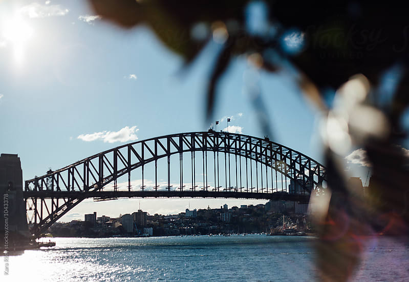 Sydney Harbour Bridge by Kara Riley for Stocksy United