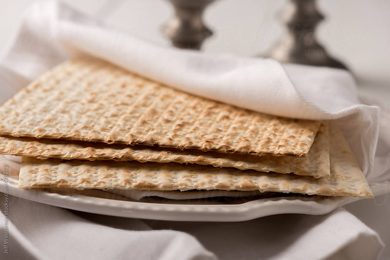 Matzah for Passover by Jeff Wasserman for Stocksy United