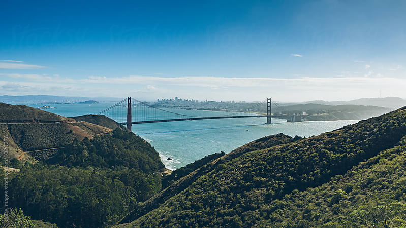 golden gate bridge by unite images for Stocksy United
