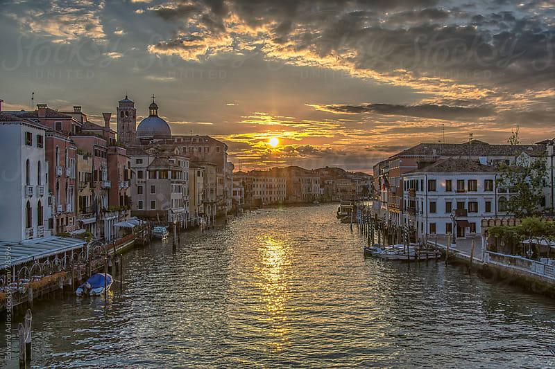 Venetian Sunrise by Edward Adios for Stocksy United