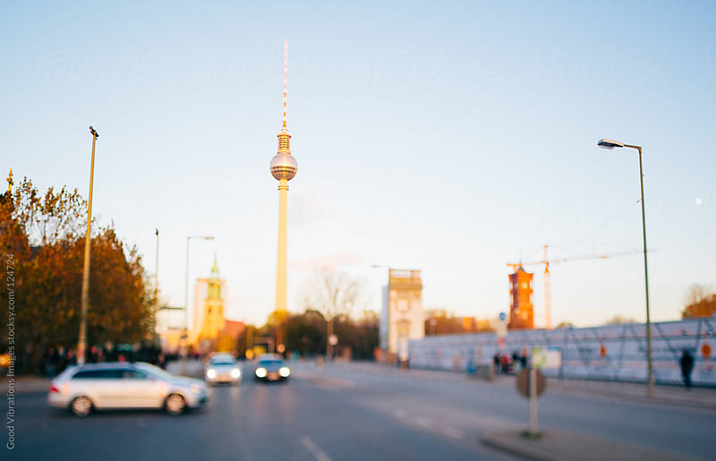 Sunset in Berlin by Good Vibrations Images for Stocksy United