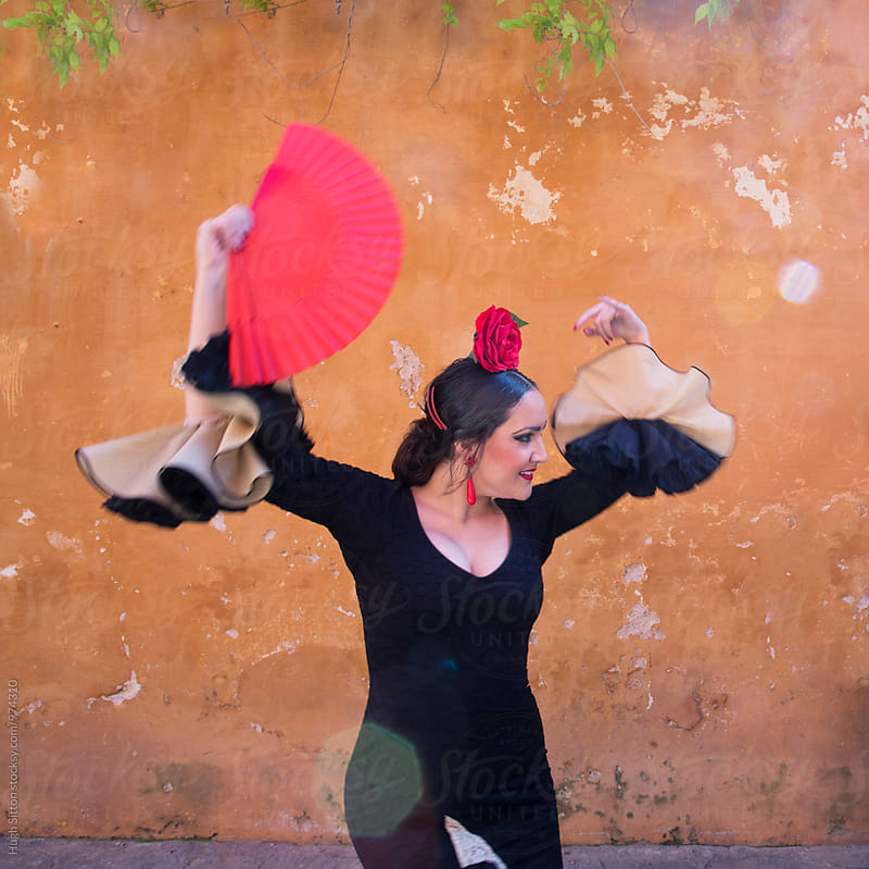 Flamenco Dancer. Spain. by Hugh Sitton for Stocksy United