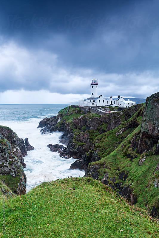 Lighthouse in Northern Ireland by Marilar Irastorza for Stocksy United