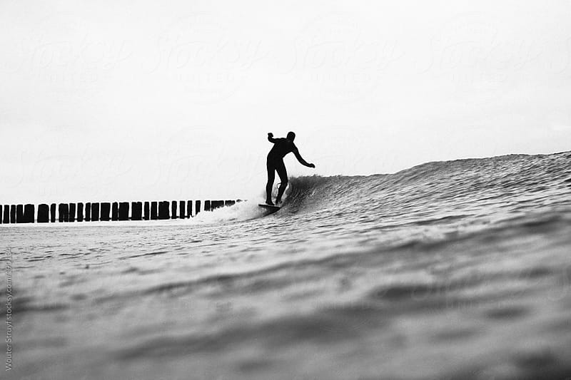 coldwater surf by Wouter Struyf for Stocksy United