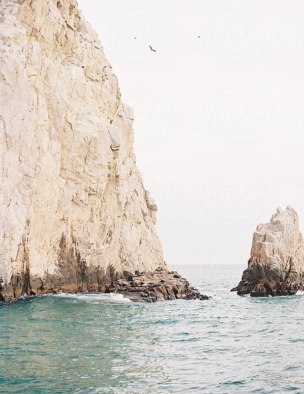 Cliffs in Cabo Mexico by Vicki Grafton Photography for Stocksy United