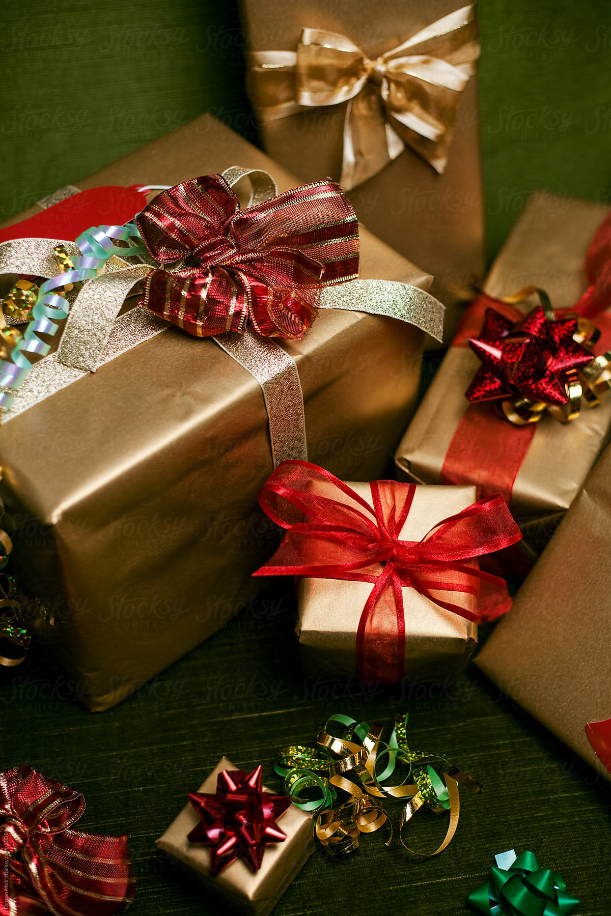 Christmas Presents Gift Wrapped | Stocksy United