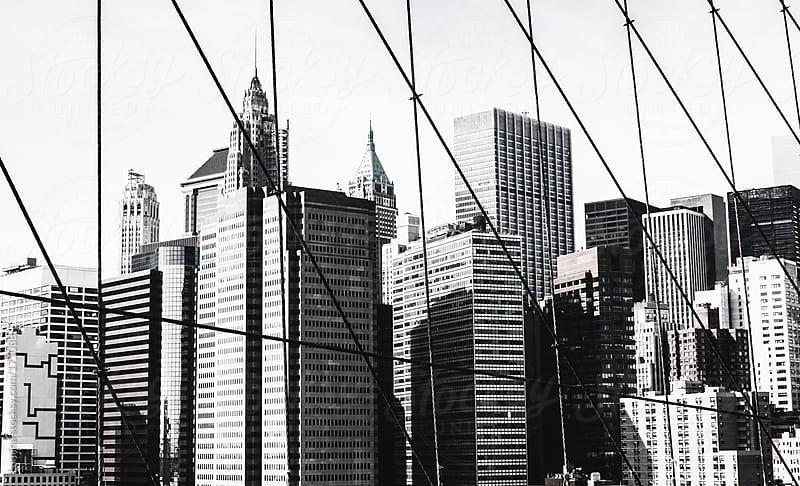 Black and White Manhattan by Lumina for Stocksy United