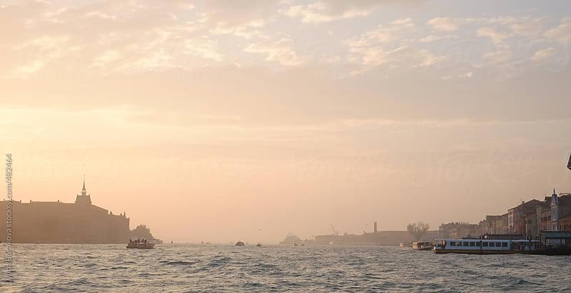 Sunset in Venice, Italy by Lyuba Burakova for Stocksy United