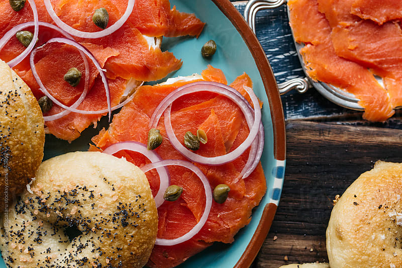 Freshly made lox by Gabriel (Gabi) Bucataru for Stocksy United