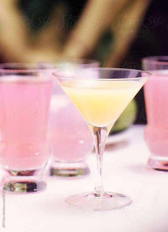 Spring Lemonade Cocktails by Jill Chen for Stocksy United