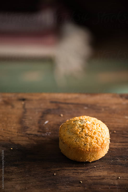 muffins with aniseeds and black pepper by Laura Adani for Stocksy United