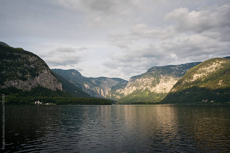 Hallstatt lake. by Gergely Kishonthy for Stocksy United