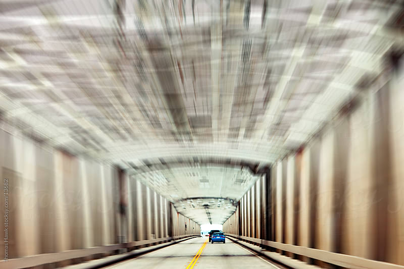 California Bridge with motion blur by Thomas Hawk for Stocksy United