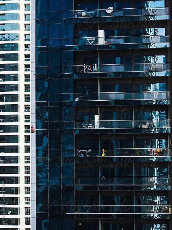 detail of a skyscraper by Juri Pozzi for Stocksy United