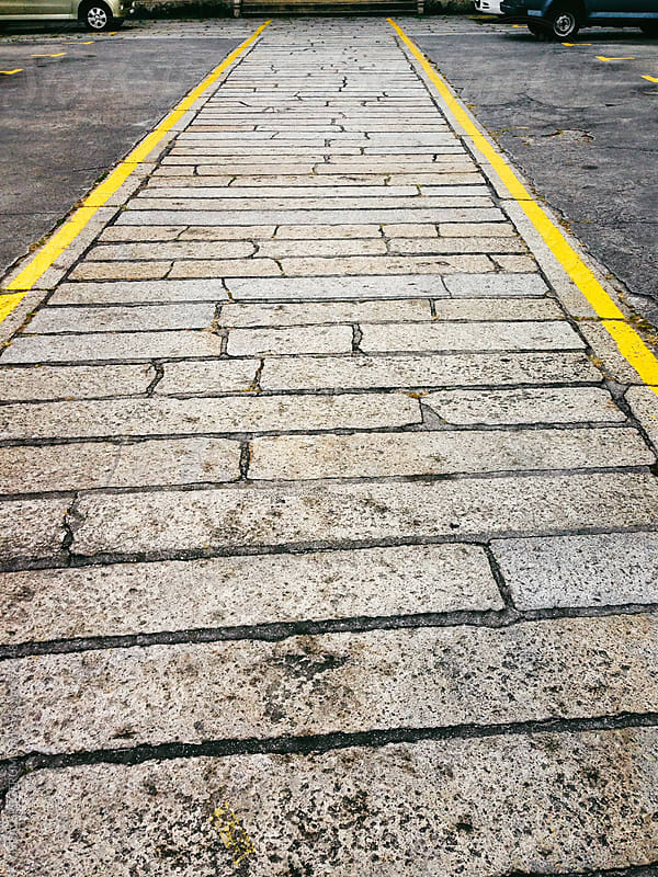 Stone Walkway by VISUALSPECTRUM for Stocksy United