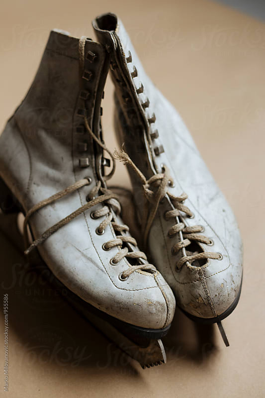Old retro ice skates by Marko Milovanović for Stocksy United