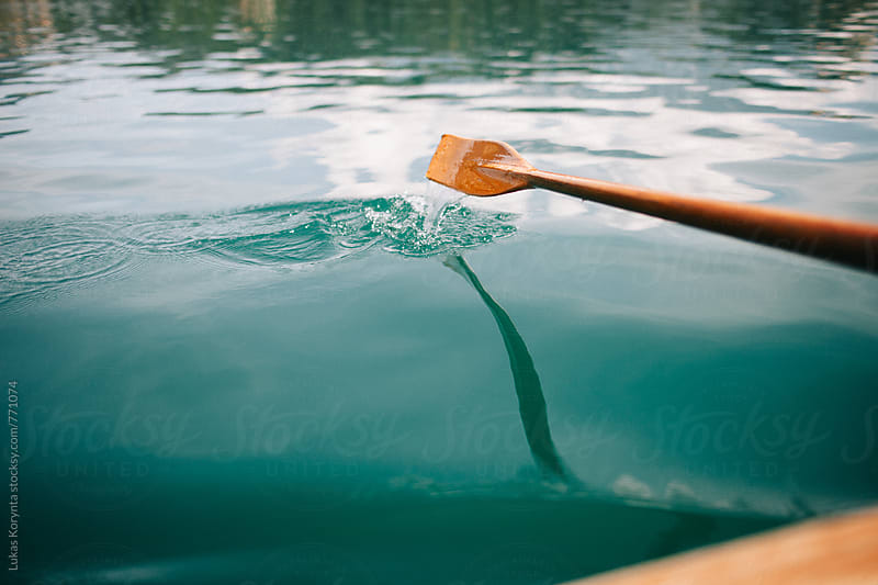 Paddle by Lukas Korynta for Stocksy United