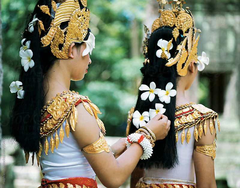 Khmer dancers. Angkor Wat. by Hugh Sitton for Stocksy United