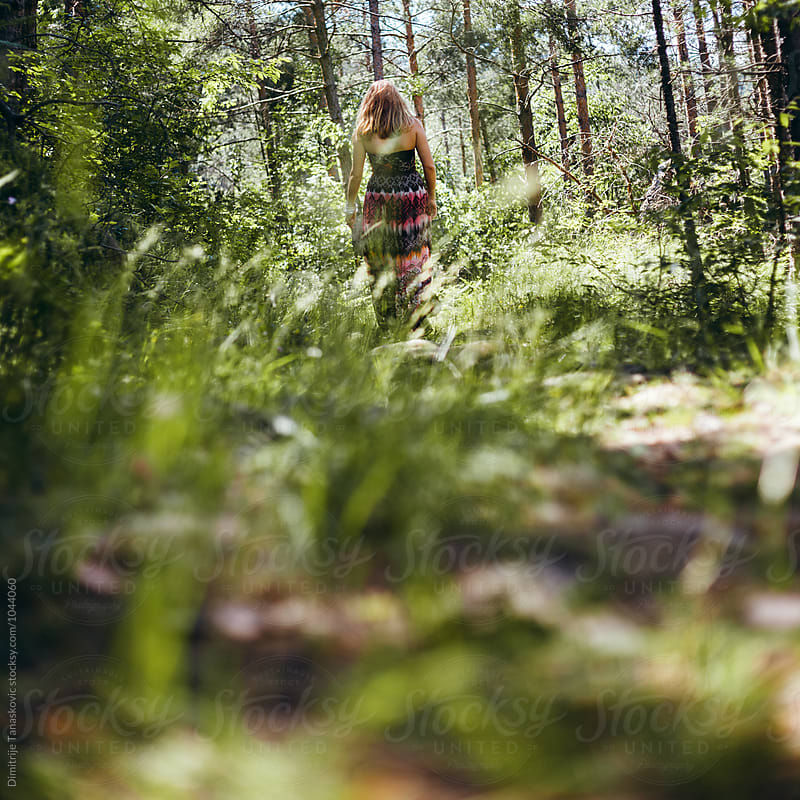 Woman in nature by Dimitrije Tanaskovic for Stocksy United