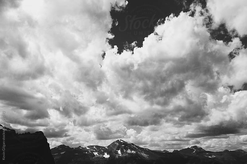 Clouds & Mountains by Kevin Gilgan for Stocksy United