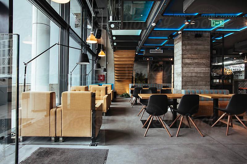 Interior of a Bar by Lumina for Stocksy United