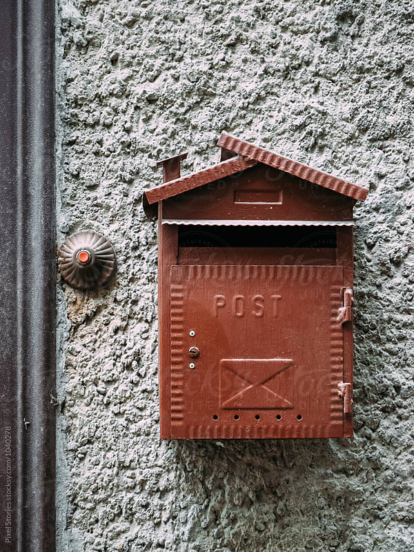 Vintage mailbox by Pixel Stories for Stocksy United