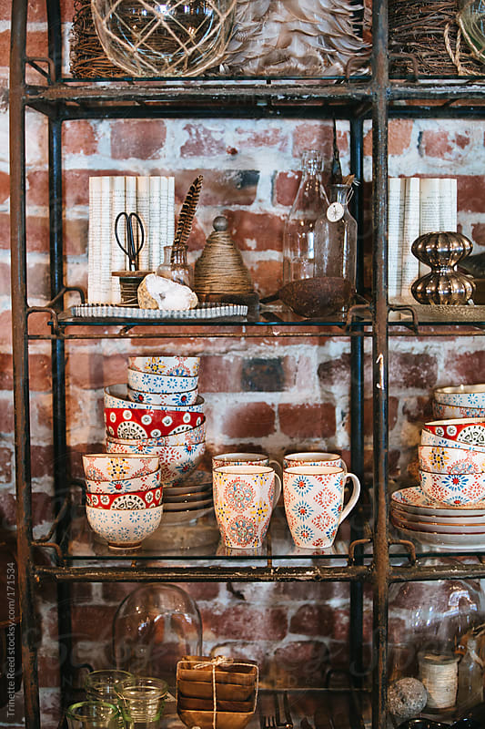 Interior of small artisan shop by Trinette Reed for Stocksy United