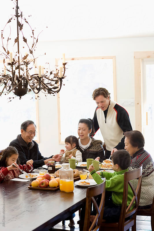Family Breakfast by Jill Chen for Stocksy United
