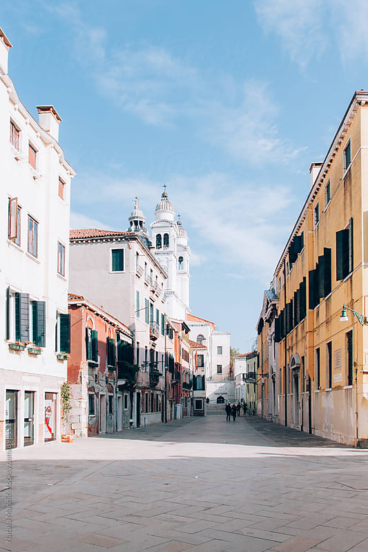 Street in Venice by Nataša Mandić for Stocksy United