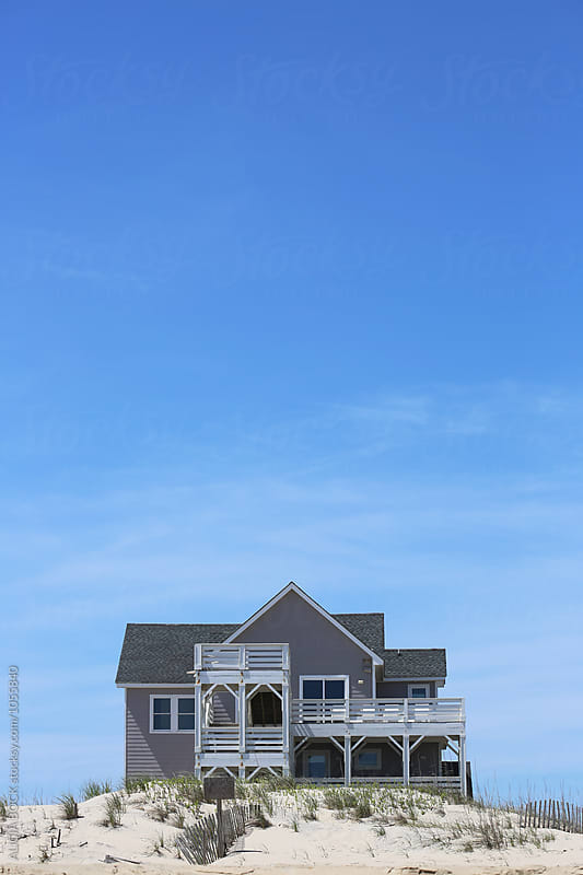 A Beautiful Beach House On The North Carolina Coast by ALICIA BOCK for Stocksy United