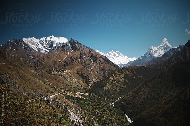 Himalayan Panorama by WAA for Stocksy United