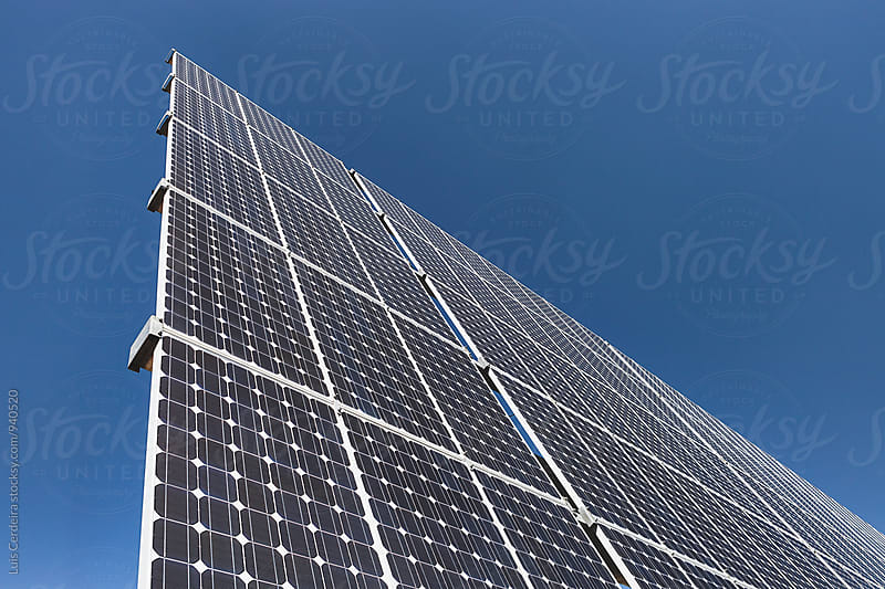 Solar panel by Luis Cerdeira for Stocksy United
