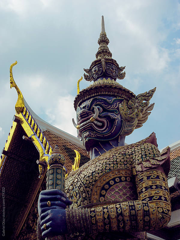 Wat arun temple in Bangkok, Temple in Thailand by Gabriel Diaz for Stocksy United
