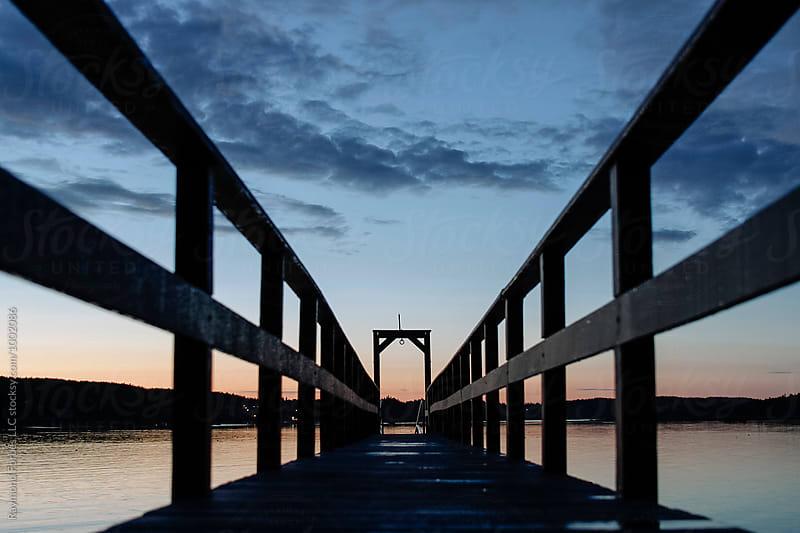 Dock Swan's Island, Maine by Raymond Forbes LLC for Stocksy United