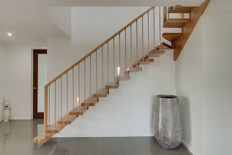 Architectural staircase by Rowena Naylor for Stocksy United