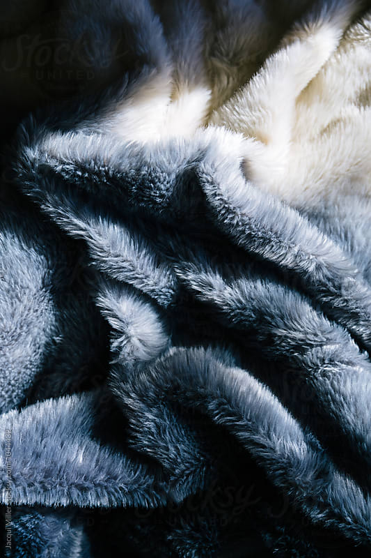 Faux fur blanket by Jacqui Miller for Stocksy United
