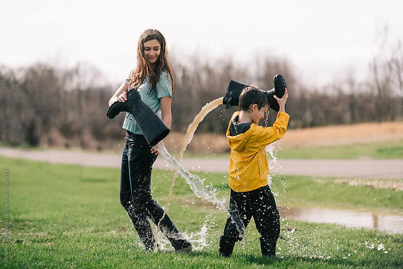 April showers by Melanie DeFazio for Stocksy United