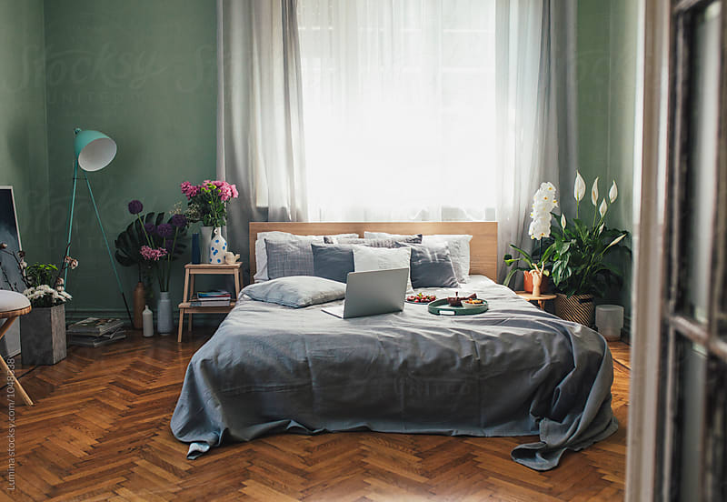 Empty Bedroom by Lumina for Stocksy United