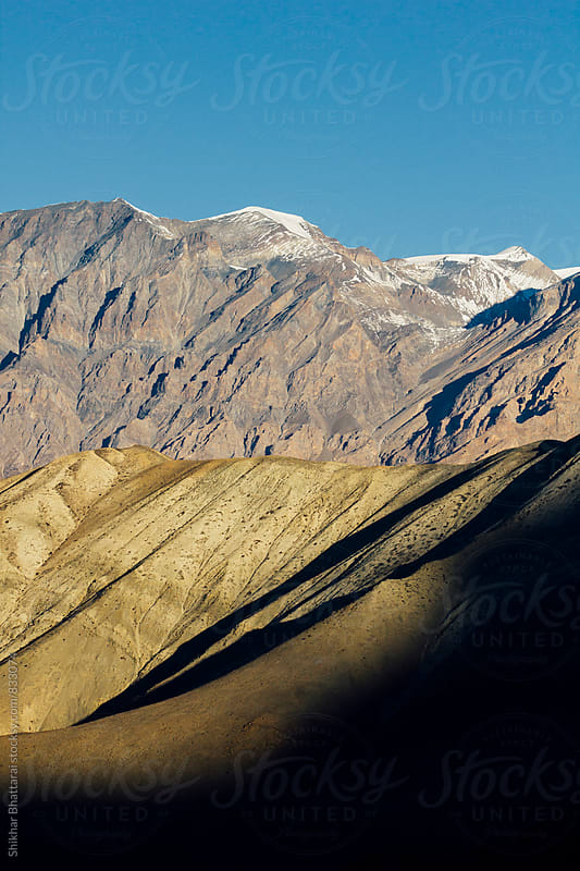 Natural texture and patterns in the mountains in the himalayas. by Shikhar Bhattarai for Stocksy United