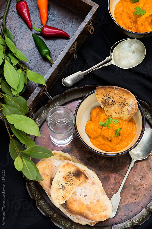 Chicken Tikka Masala by Aniko Lueff Takacs for Stocksy United