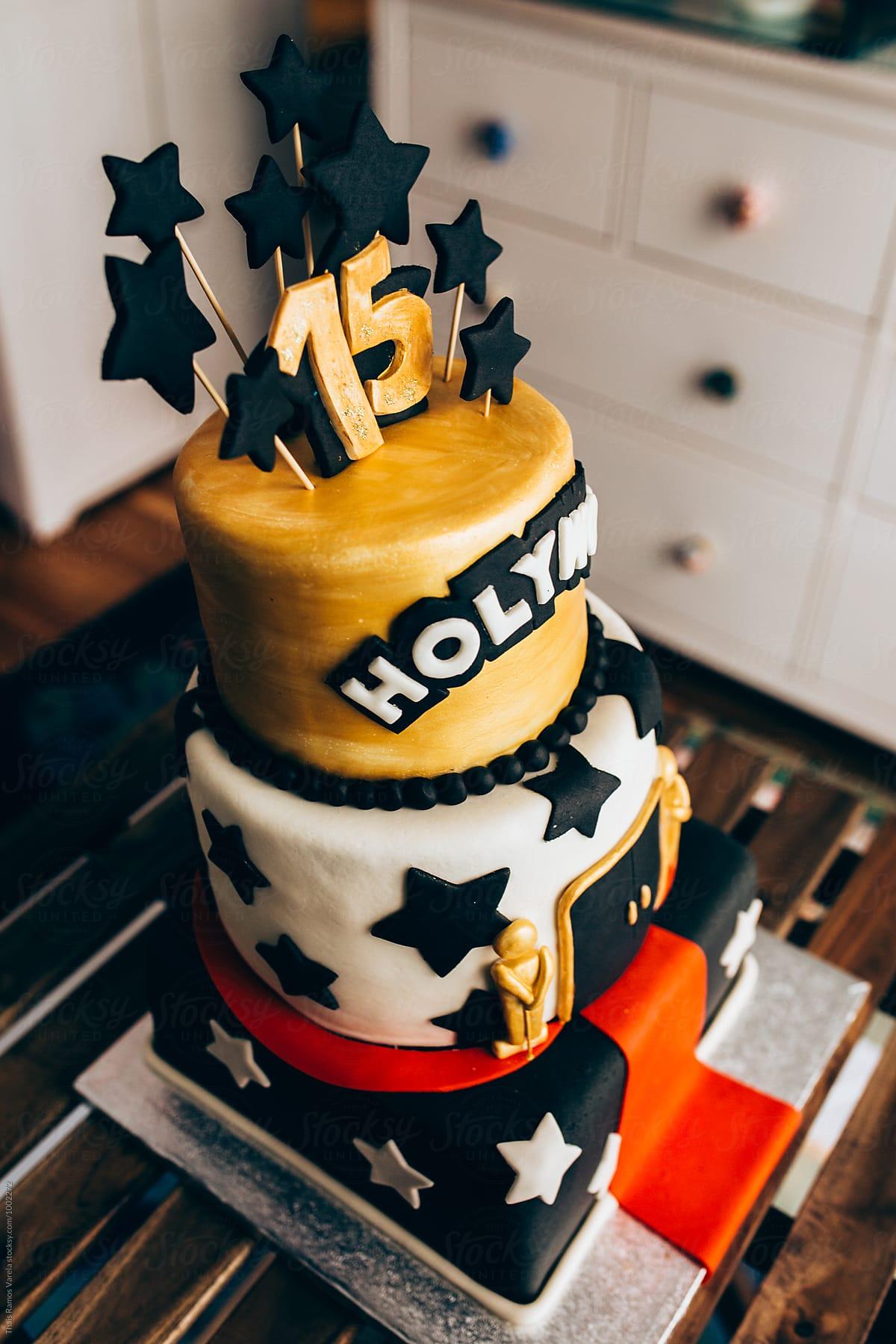 Hollywood Themed Cake Stocksy United