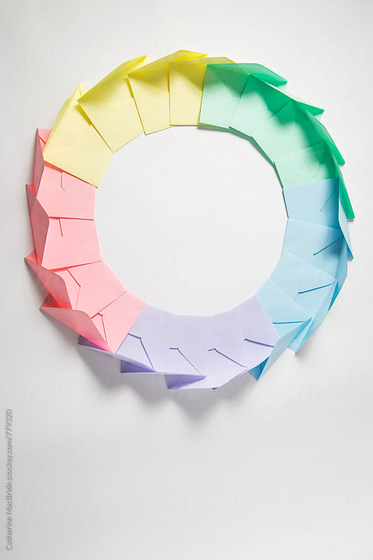 Envelope Wreath... by Catherine MacBride for Stocksy United