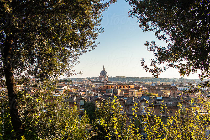 Cityscape of Rome by Zocky for Stocksy United