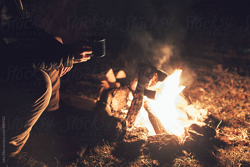Campfire Mug by Jake Elko for Stocksy United