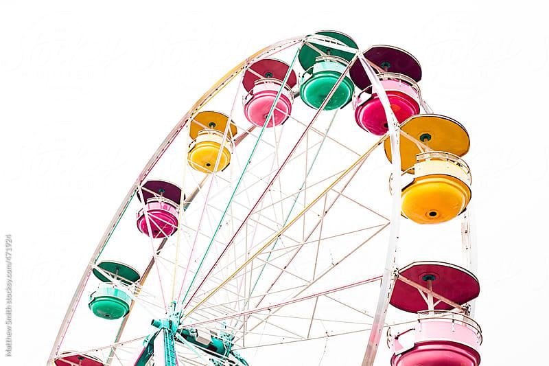 Empty Ferris Wheel by Matthew Smith for Stocksy United
