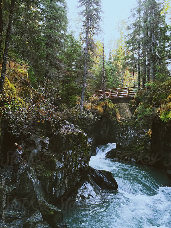 Winner Creek Bridge by Jovell Rennie for Stocksy United