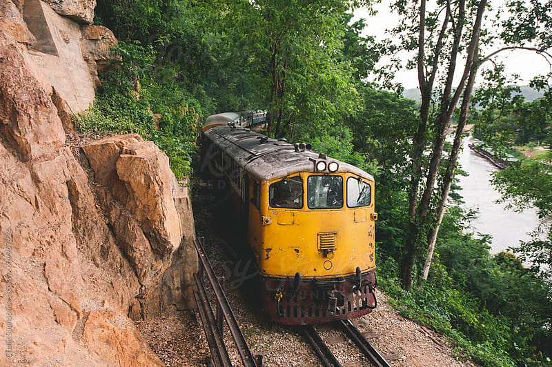 Old Train by Chalit Saphaphak for Stocksy United
