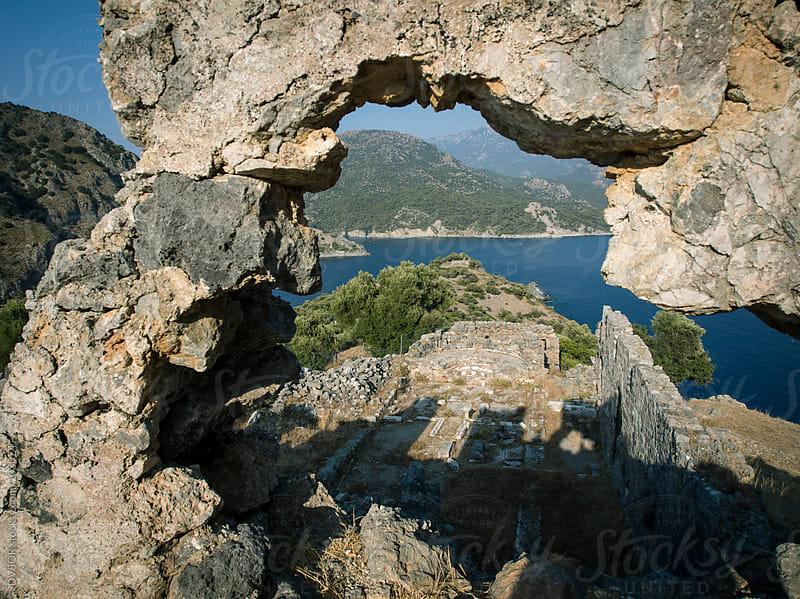 Gemiler Island, Fethiye, Turkey by DV8OR for Stocksy United