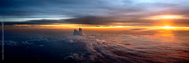 Up in the clouds by Jason Denning for Stocksy United